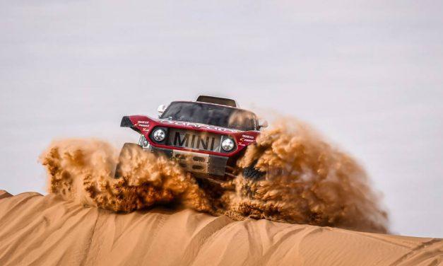 Sebastián Guayasamín culmina en la posición 53 en la séptima etapa del rally Dakar