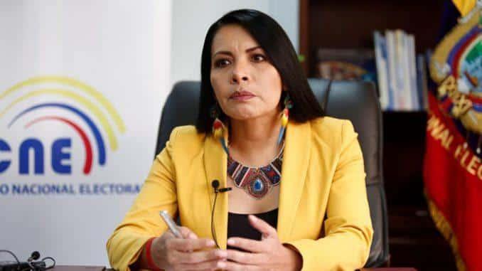 CNE / Eleccciones 2021 / Diana Atamaint / CNE