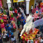 Ambato recibe el carnaval con la fiesta de las flores y de las frutas