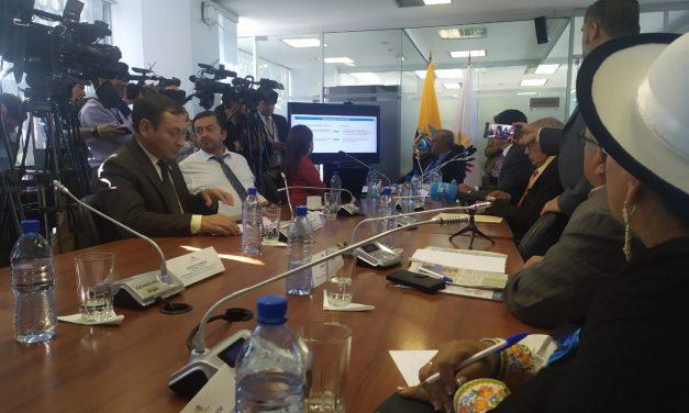 Comisión de la Asamblea Nacional impide la comparecencia de Francisco Carrión