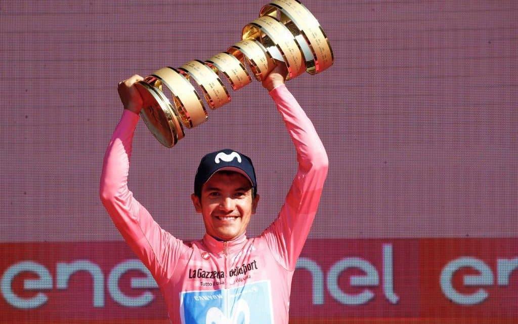 Carapaz defenderá su título en el Giro como líder del Ineos