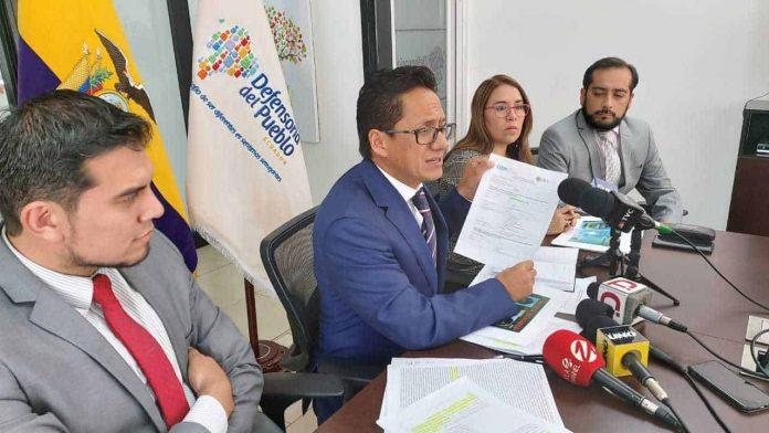 Freddy Carrión, defensor del Pueblo