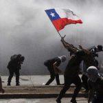 Manifestantes denuncian uso de extrañas sustancias por los carabineros
