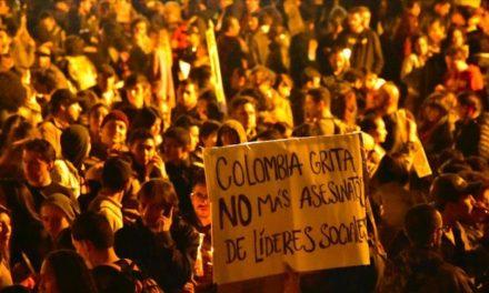 20 líderes sociales asesinados en Colombia