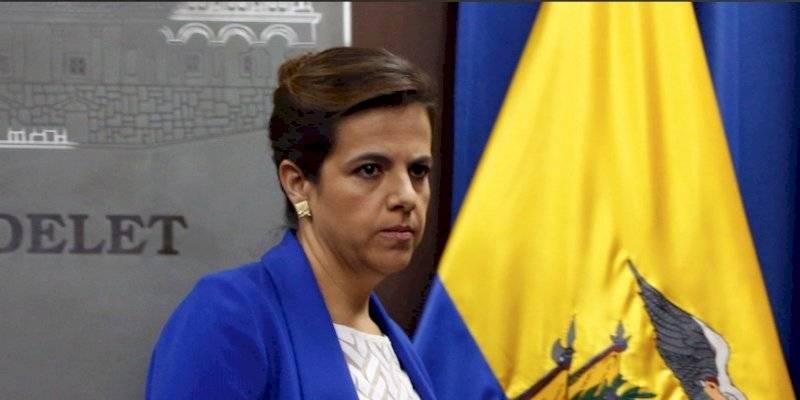 María Pala Romo, ministra de Gobierno del Ecuador.