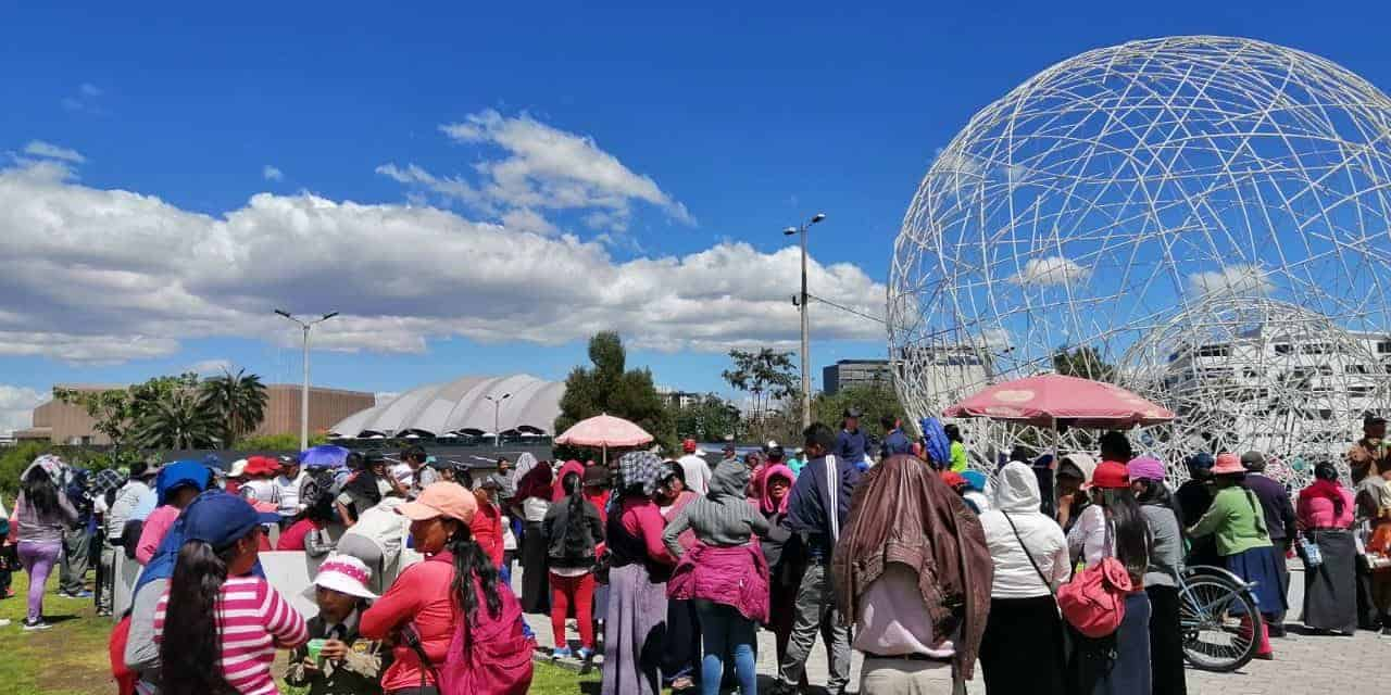 Comerciantes informales protestan por ordenanza municipal