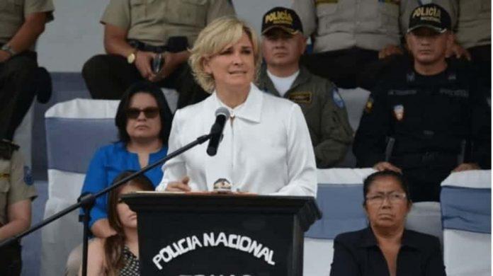 Cynthia VIteri, alcaldesa de Guayaquil