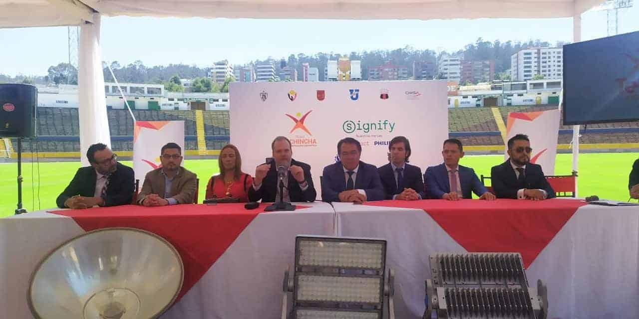 Concentración Deportiva de Pichincha apura trámites para eliminatorias sudamericanas