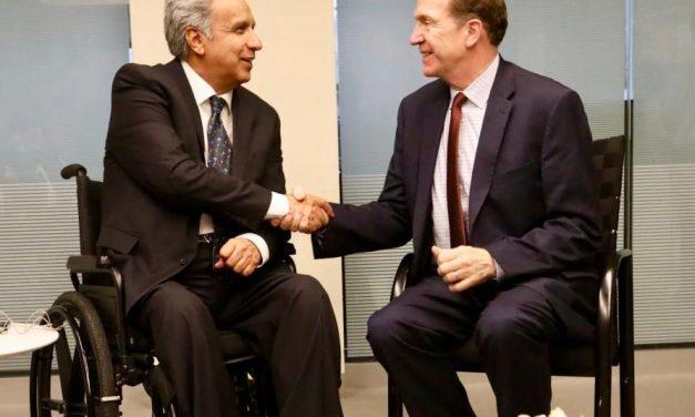 Ecuador ruega adelantar desembolso del Banco Mundial