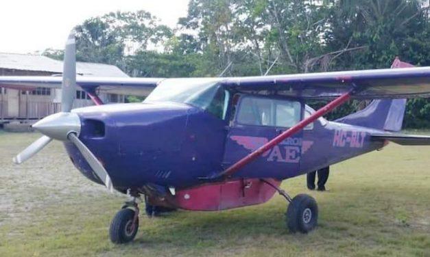 Accidente de avioneta deja cinco muertos en Macas