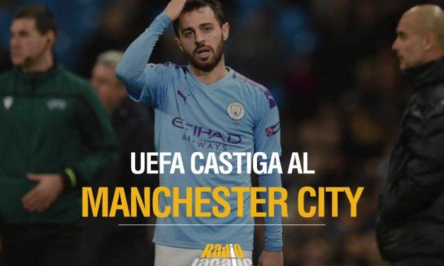 Manchester City, expulsado de torneos UEFA