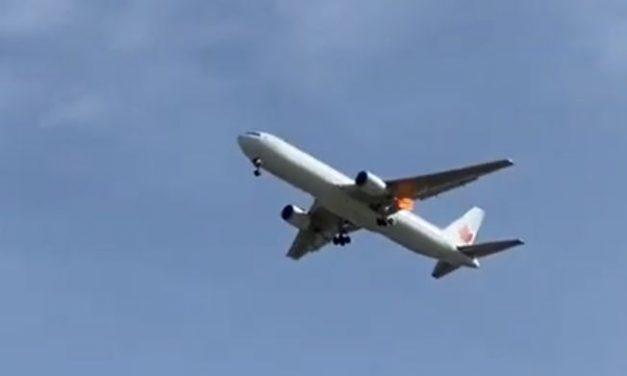 Avión en Madrid efectúa aterrizaje de emergencia con éxito