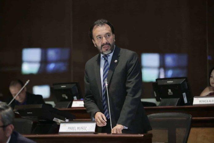 El asambleísta por la Revolución Ciudadana Pabel Muñoz. FOTO: Asamblea Nacional.