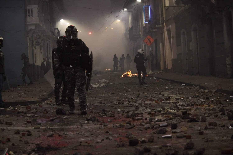 Protestas de octubre. FOTO: OP/La Calle