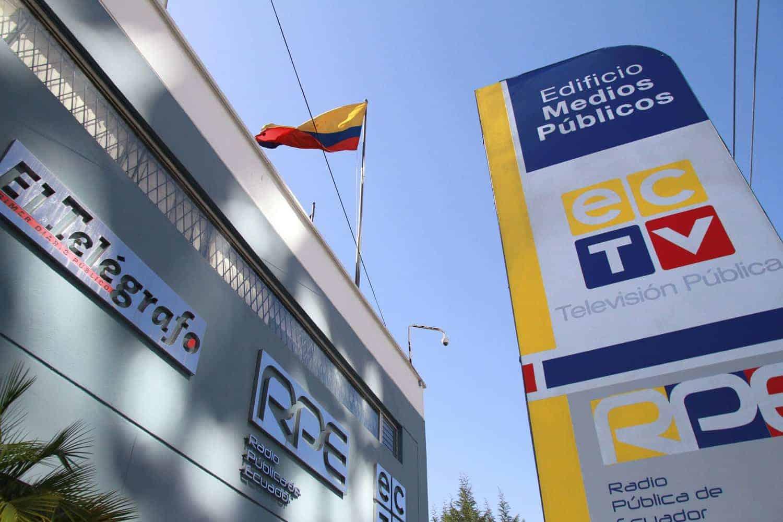 Edificio de Medios Públicos en Quito. FOTO: Medios Públicos.