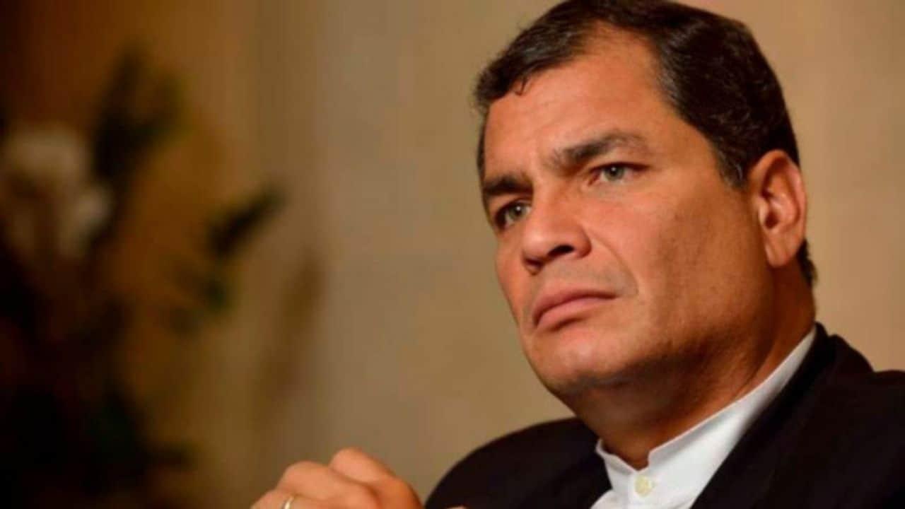 El expresidente ecuatoriano Rafael Correa.