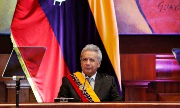 Moreno insiste en llamar «golpe de Estado» al levantamiento popular de octubre