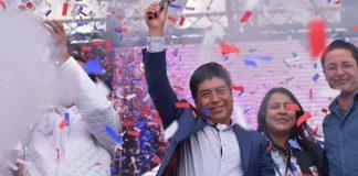 Jorge Yunda cumple hoy un año como alcalde de Quito