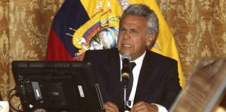 Lenín Moreno, presidente del Ecuador.