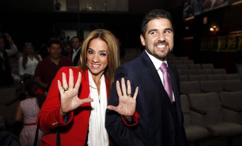 Dalo Bucaram y Gabriela Pazmiño FE Fuerza Ecuador