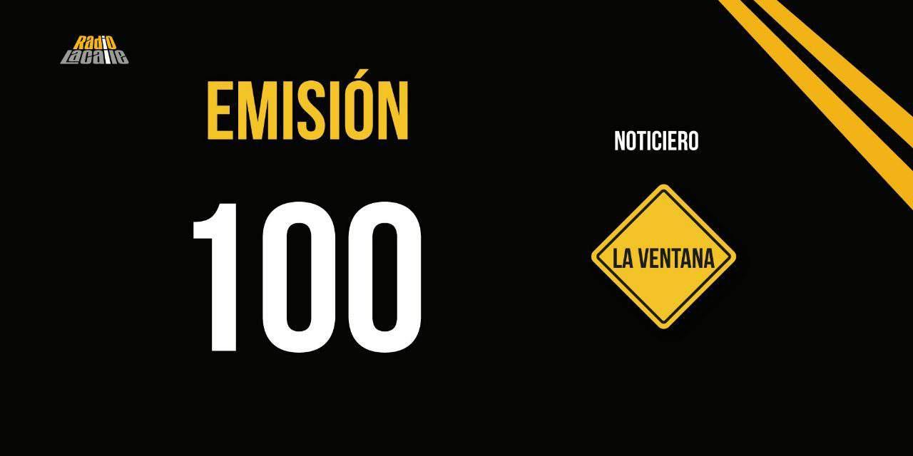 Noticiero La Ventana llega a su emisión 100 (Editorial)