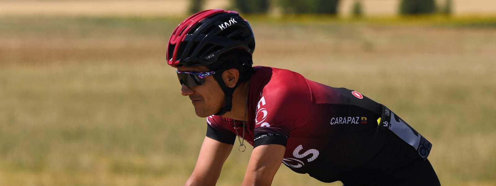 Richard Carapaz, Team Ineos. Foto: Team INEOS.