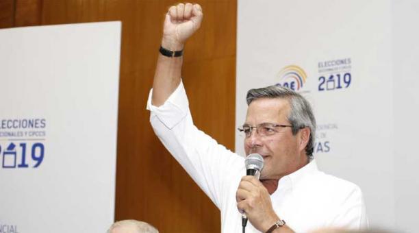 Jimmy Jairala: «No seré candidato»
