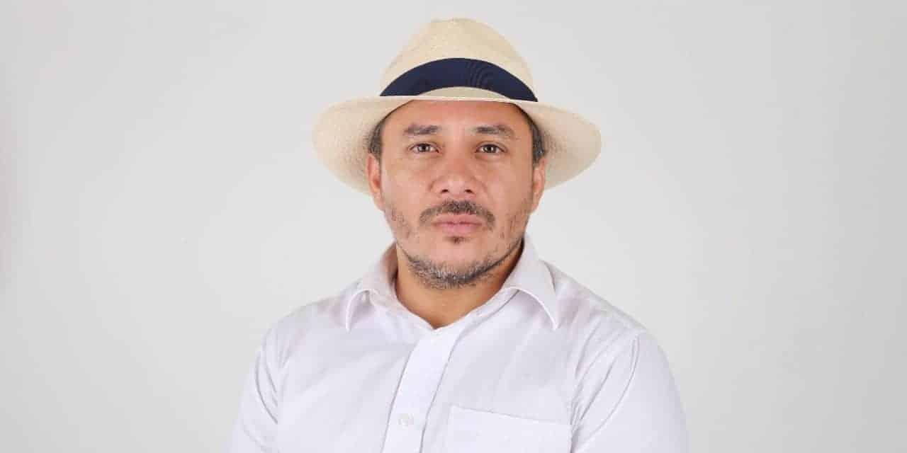 Richard Intriago va por la revolución del agro