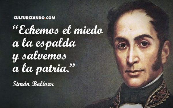 Aniversario del Natalicio del Libertador Simón Bolívar