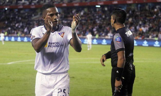 'Toño' Valencia no va más en Liga de Quito