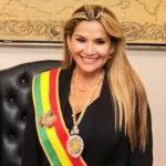 Presidenta de Bolivia da positivo para Covid-19