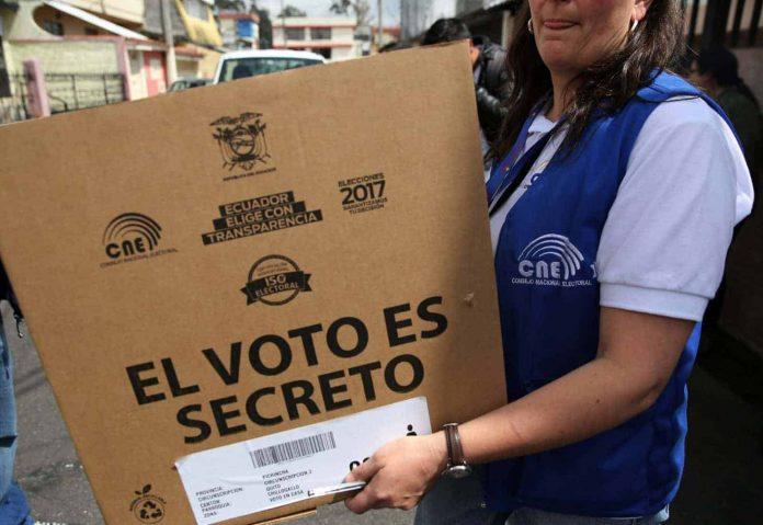 Elecciones Juntas Receptoras del Voto JRV