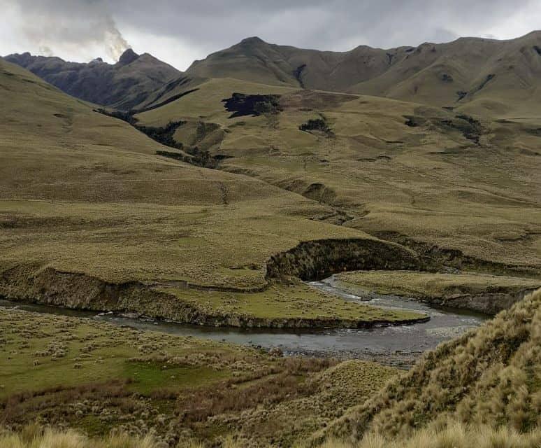 Los páramos Ichumbamba son parte del Sistema Nacional de Áreas Protegidas