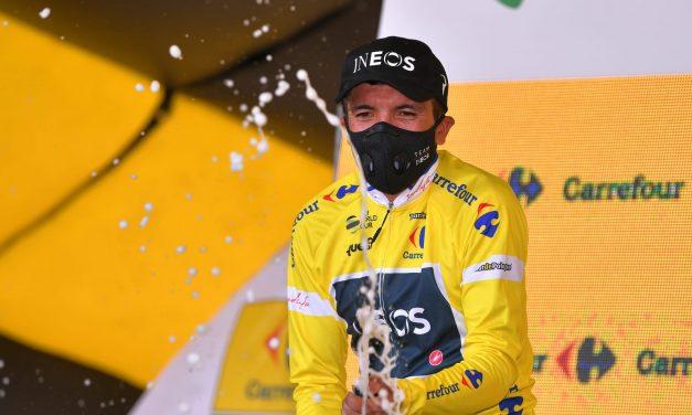 Richard Carapaz gana la etapa 3 del Tour de polonia; es el nuevo líder