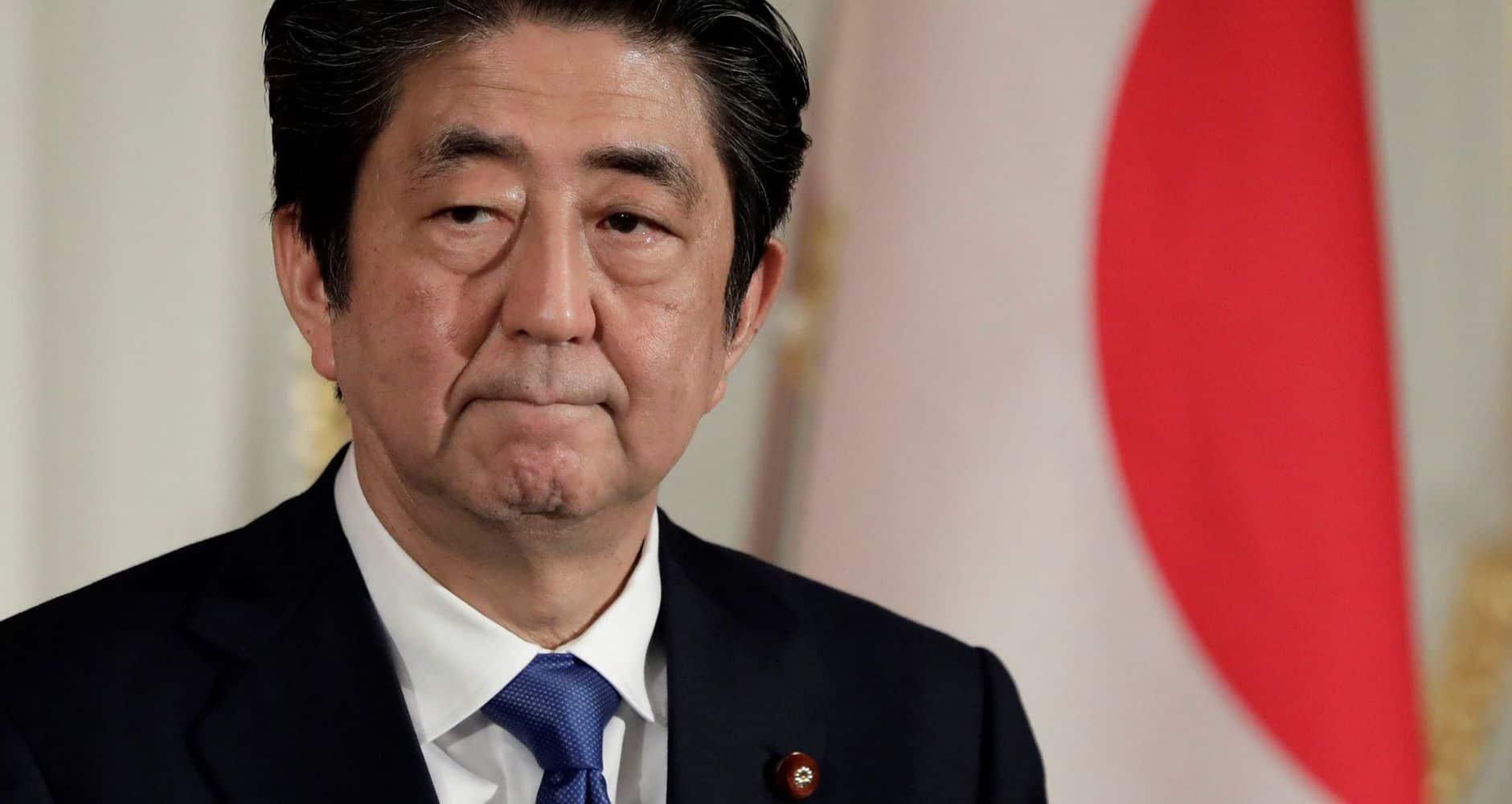Shinzo Abe Japón primer ministro japones
