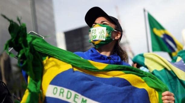 Brasil protestas covid