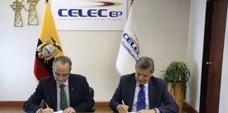 Convenio CELEC CENACE