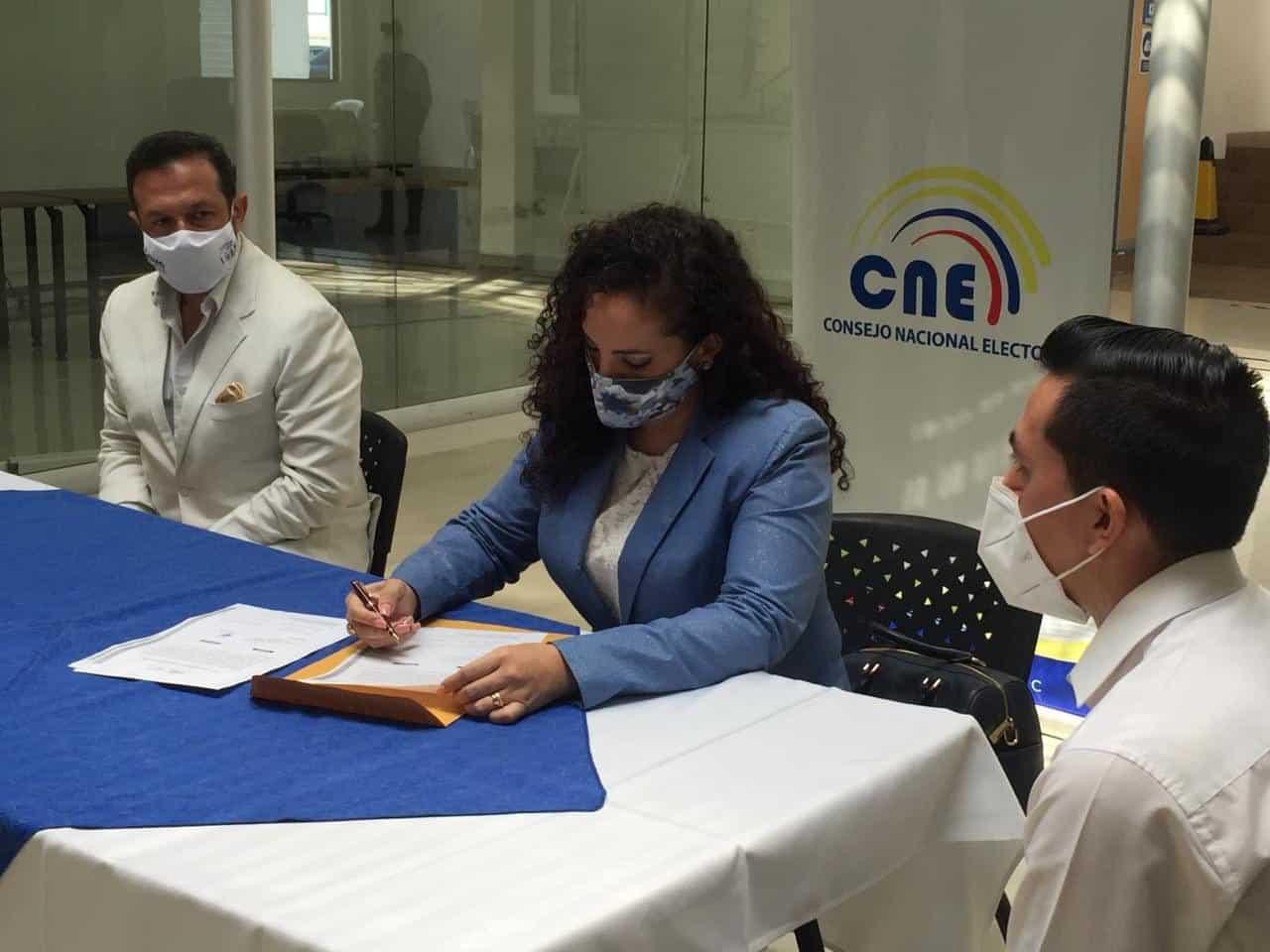 Ecuatoriano Unido, CNE firmas elecciones votaciones