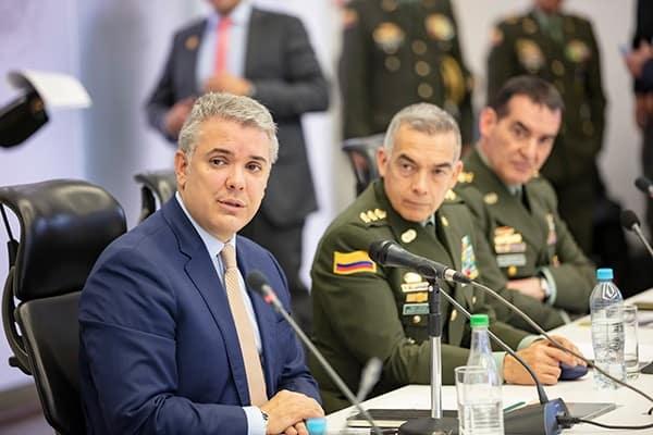 Colombia Iván Duque - Maduro