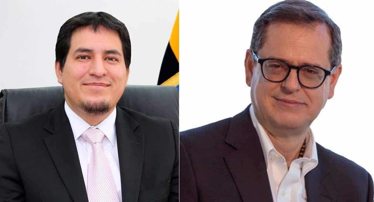 Andrés Arauz y Carlos Rabascall