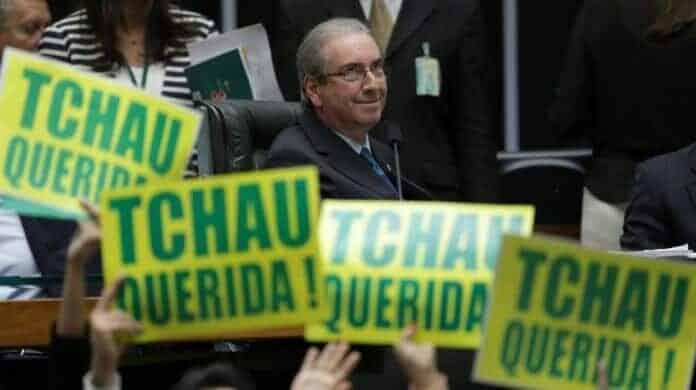 Eduardo Cunha, impulsor del juicio político contra la ex presidenta Dilma Rousseff,