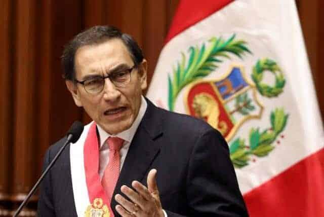 Martín Vizcarra Presidente del Perú