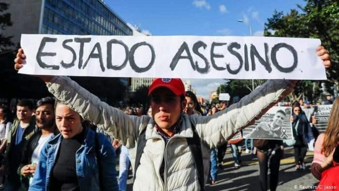 Protestas represión policial Colombia