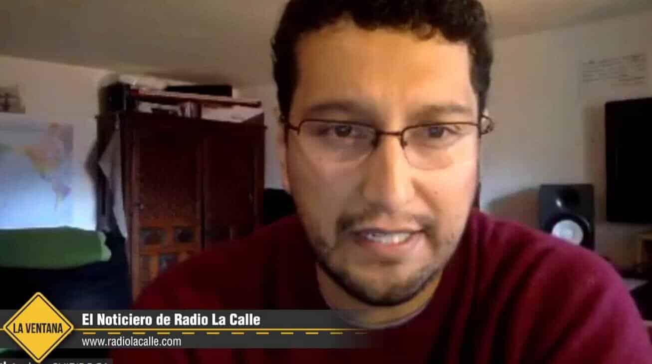 Andrés Chiriboga, investigador y miembro del Observatorio de la Dolarización,