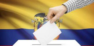 Elecciones en Ecuador.