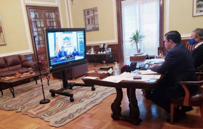 Juan Sebastián Roldán en Washington. Fuente: twitter Juan Sebastián Roldán.