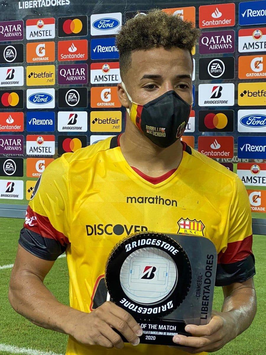 Byron Castillo al Boca Juniors de Argentina?
