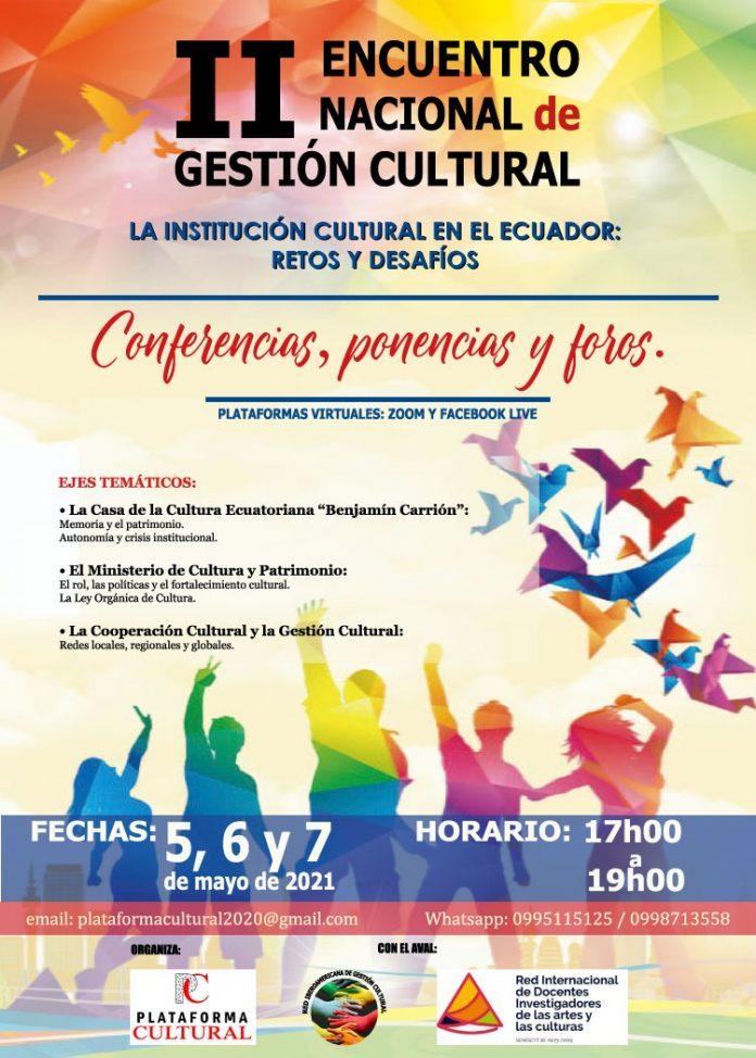 II Encuentro nacional de Gestión cultural