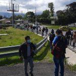 Inconvenientes de movilidad en Quito