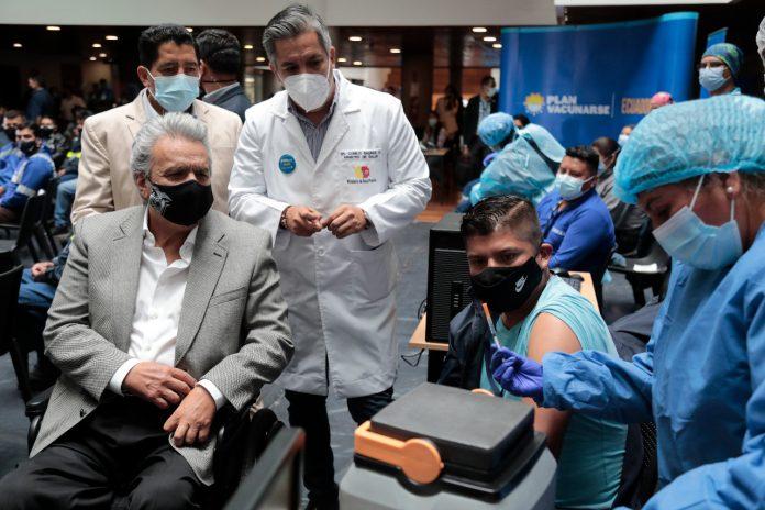 Plan de vacunación Lenín Moreno